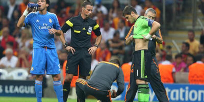 Casillas'ın kaburgasında ezilme