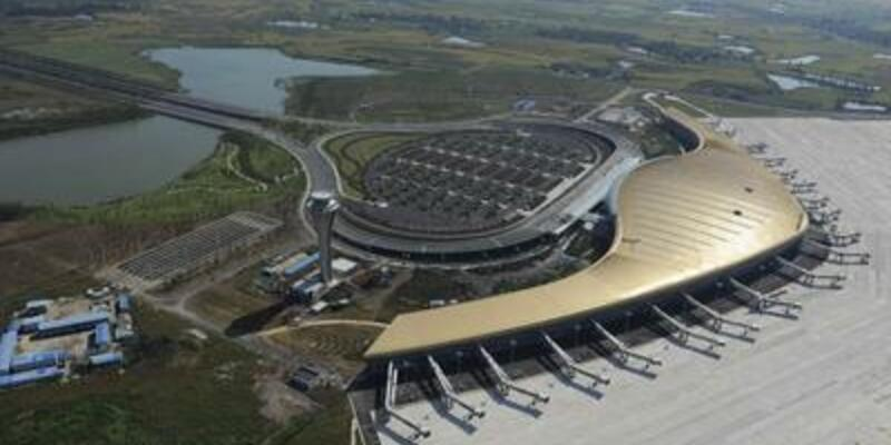 İşte dünyanın en yüksek havaalanı...