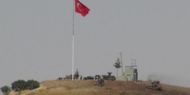 PYD Türkiye sınırı yakınlarına mevzi kazıyor
