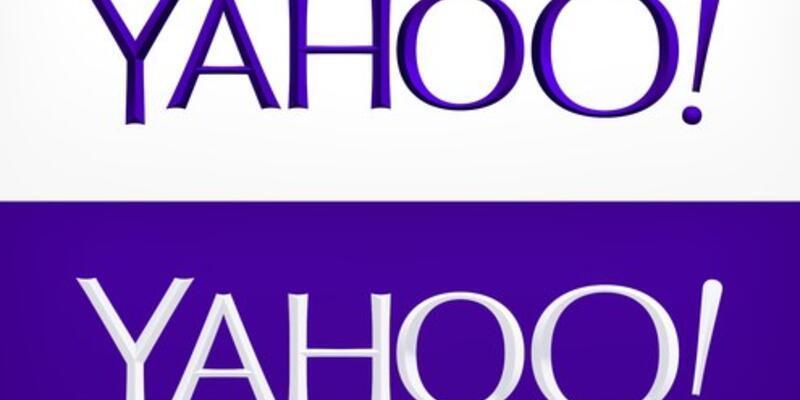 Yahoo logosunu değiştirdi