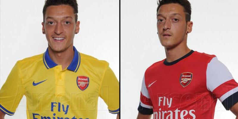 Mesut, Arsenal formasını giydi