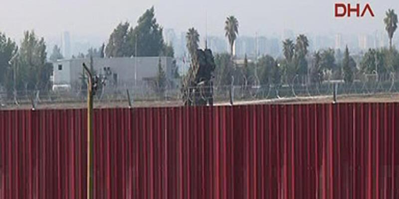 Patriotların bulunduğu kışlaya 5 metrelik duvar