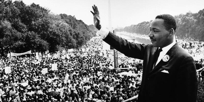 Martin Luther King'in ünlü konuşması anılacak