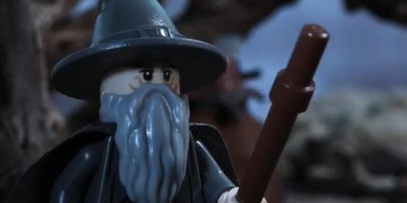 The Hobbit 2 fragmanı lego versiyonu