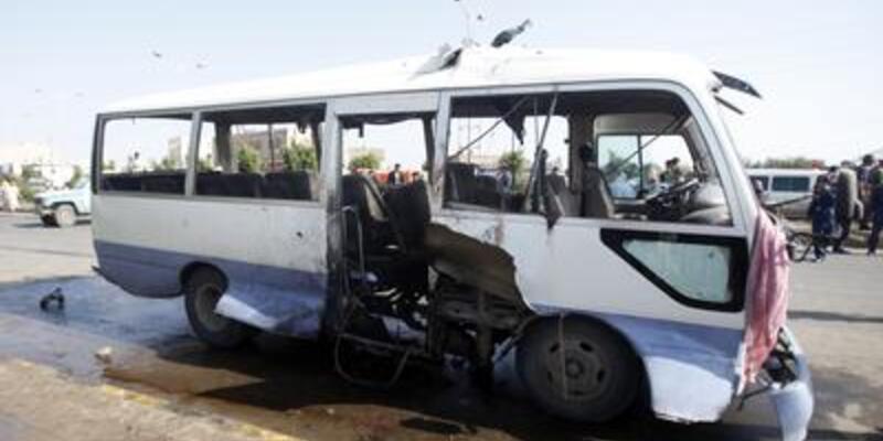 Yemen'de askeri araca saldırı