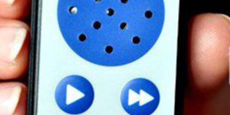 Görme engelliler için sesli ilaç kutusu