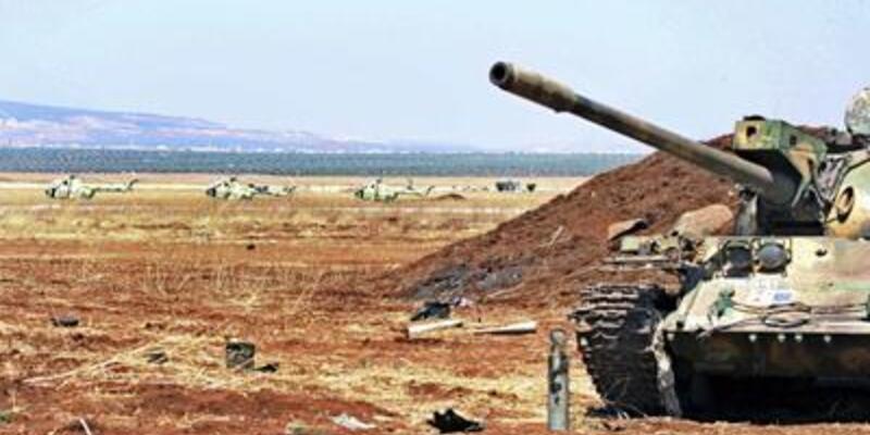 Suriye'nin Irak sınırı yanıyor