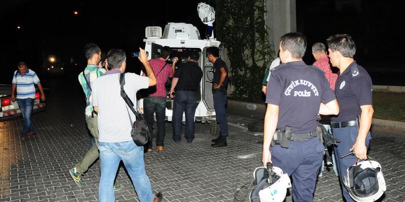 Zırhlı araç devrildi: 3 polis yaralı