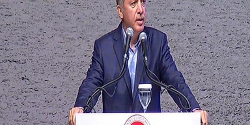 """Erdoğan: """"Kimseye silah dayamıyoruz"""""""
