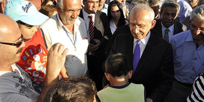 Kemal Kılıçdaroğlu Tunceli'de