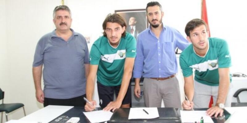Akhisar'ın yenileri imzayı attı