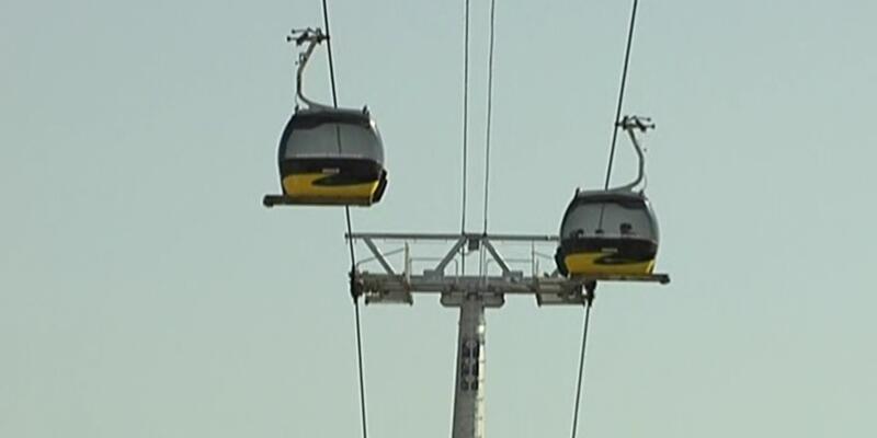 Türkiye'nin ilk toplu taşıma amaçlı teleferiği Ankara'ya