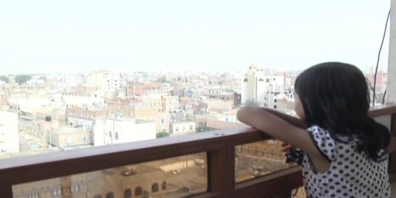 O Yemenli kız işte burada yaşıyor...