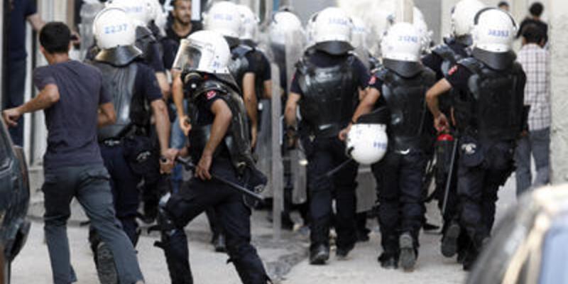 """Hatay'da """"Gezi"""" eylemcilerine gazlı müdahale"""