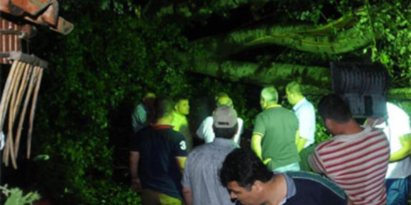 Edirne'de fırtına faciası: 1 ölü 13 yaralı