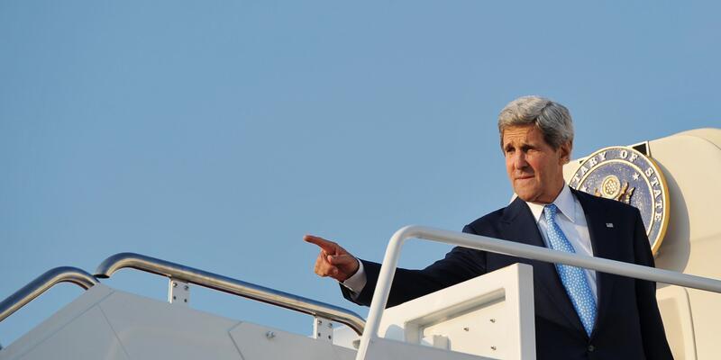Kerry Ortadoğu'da müzakere için tarih verdi