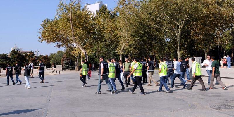 Gezi Parkı'nda 17 kişi gözaltında