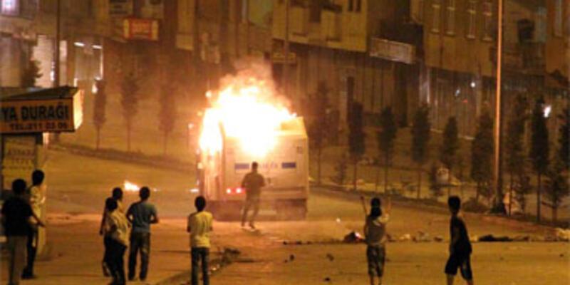 PYD'ye destek eylemine polis müdahalesi