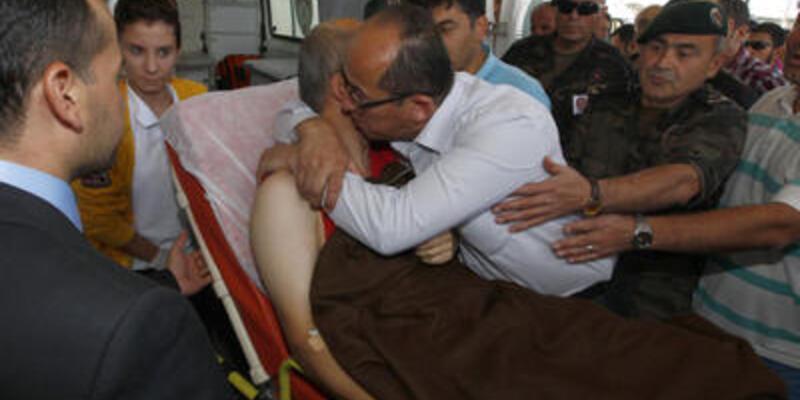 Somali'de şehit olan polisin naaşı Türkiye'de