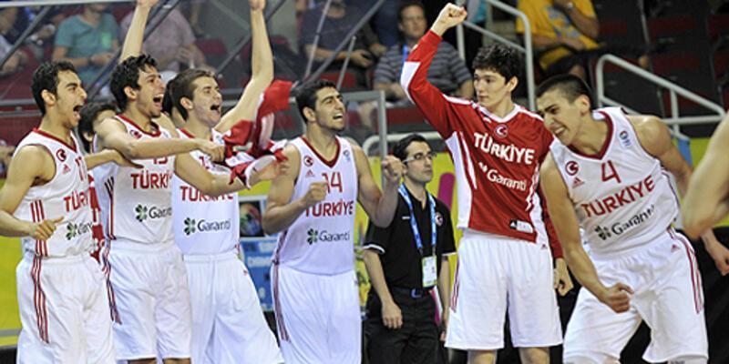 Sırbistan'ı devirdik, yarı finaldeyiz