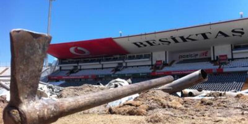 İnönü Stadı'nda yıkım çalışmaları devam edecek