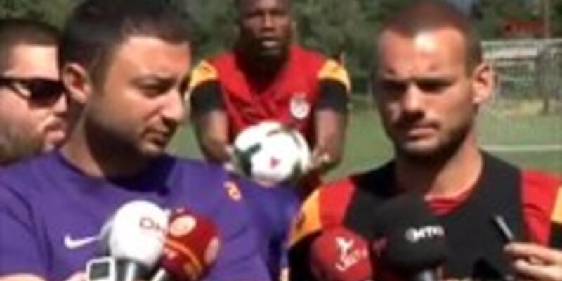 Drogba Sneijder'e yapmadığını bırakmadı