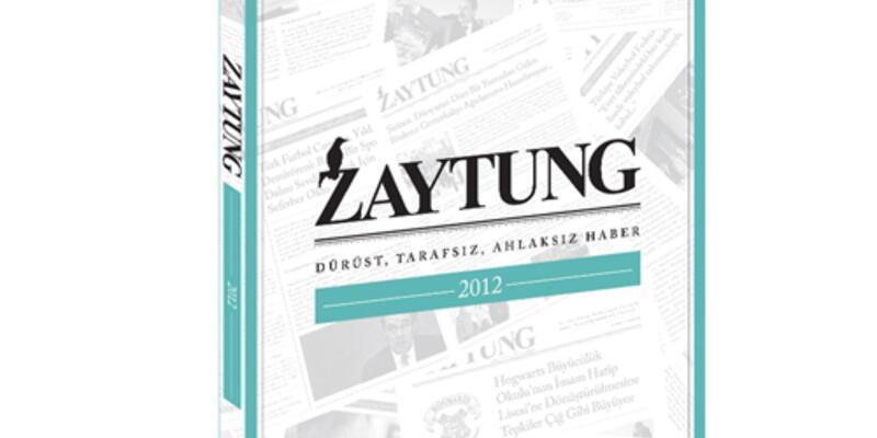 Zaytung Almanak 2012 çıktı