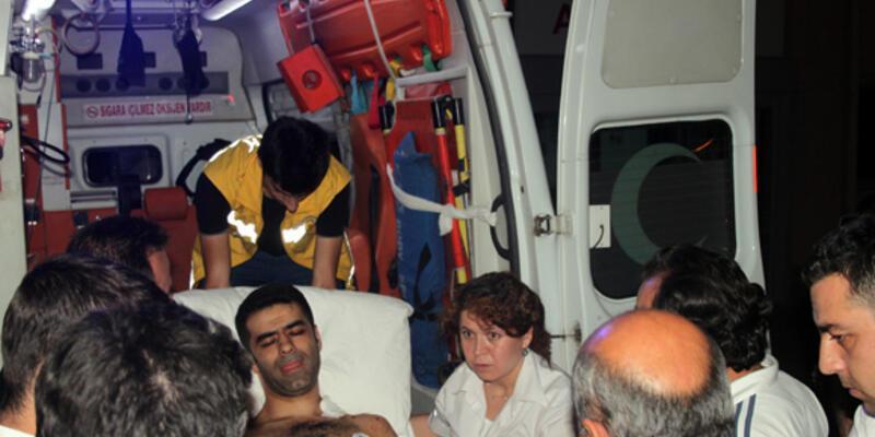 Emniyete bomba: Polis müdürü yaralandı
