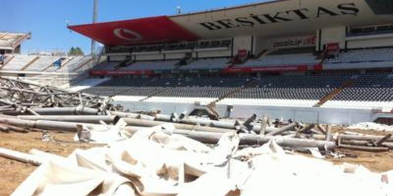 İnönü Stadı'nda yıkım ve konser