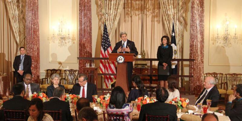 ABD Dışişleri Bakanı iftar verdi