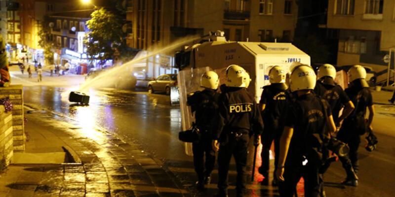 Ankara'da protestoculara yine müdahale