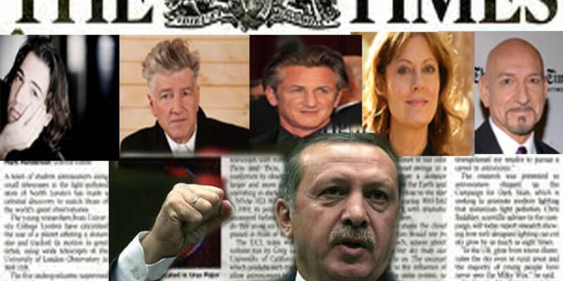 Times'ta ilanla Başbakan Erdoğan'ı kınadılar