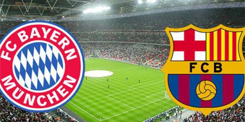 Dev maç: Bayern Münih-Barcelona