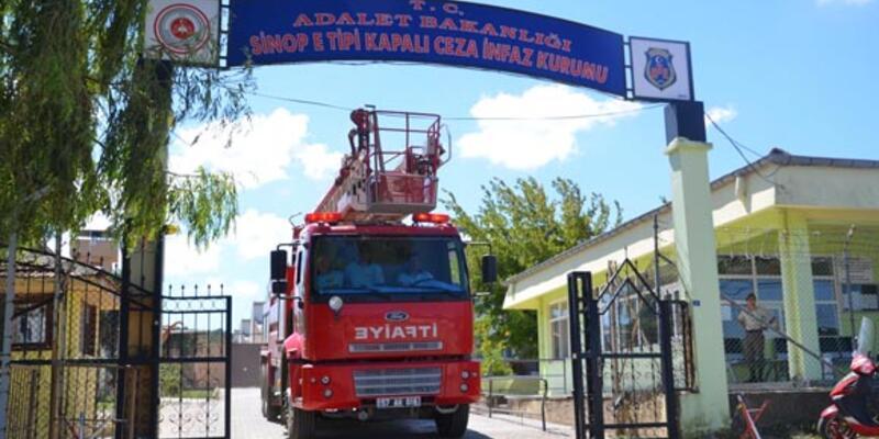 Sinop Cezaevi'nde isyan girişimi