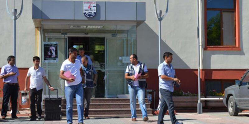 Gelibolu Belediyesi'ne yolsuzluk operasyonu