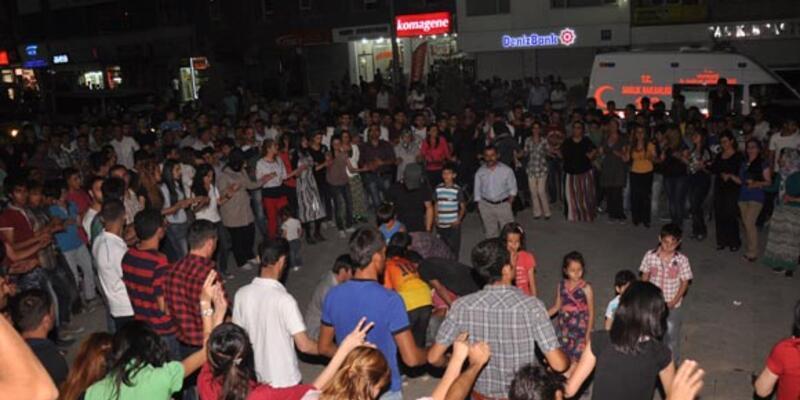 Hakkari'de PYD kutlaması