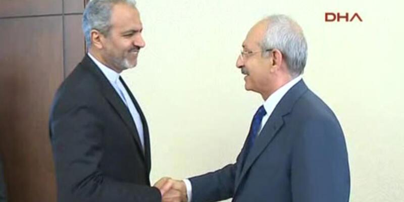 Kılıçdaroğlu İran Büyükelçisi ile görüştü