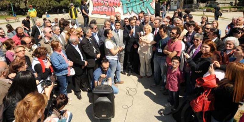 Gezi Parkı Festivali'nin ilki yapıldı