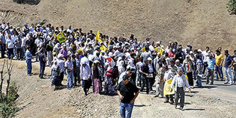 BDP'liler kalekol inşaatına yürüdü