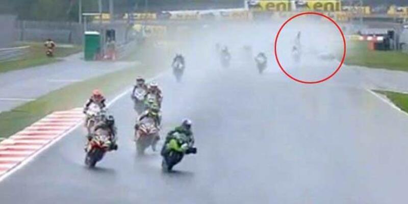 Supersport yarışında ölüm şoku