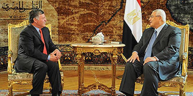 Ürdün Kralı 2. Abdullah Mısır'ı ziyaret etti