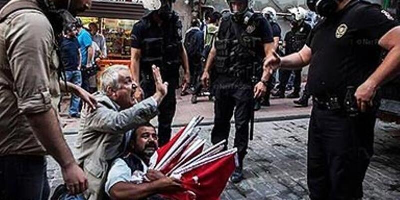 Bayrak satıcısı Sarıçiçek'e 7 yıl hapis istemi