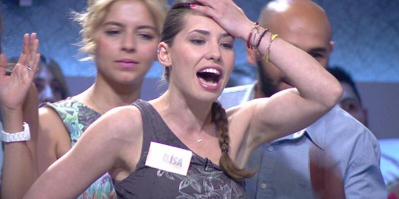 Sinirlenen yarışmacı çılgına döndü!