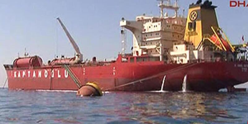 KKTC'de 100 ton mazot denize sızdı