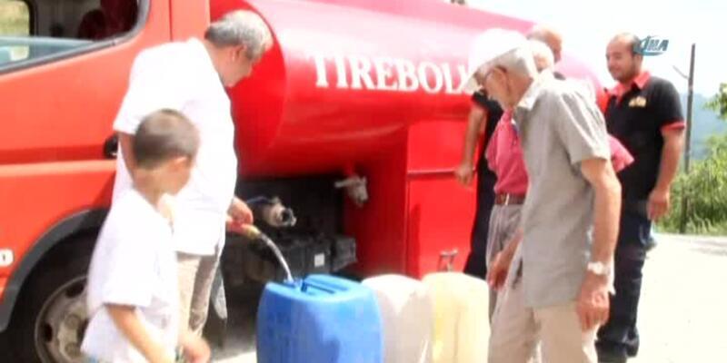 Karadeniz ve Ege'de köyleri susuzluk vurdu