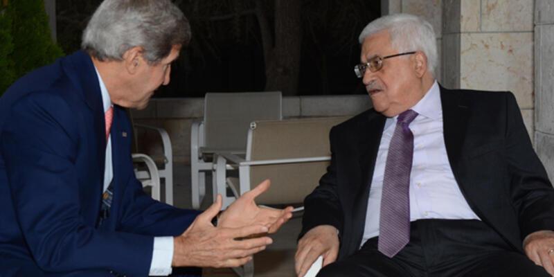 John Kerry, Mahmud Abbas ile görüştü