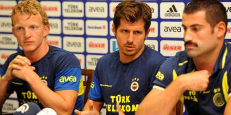 Fenerbahçe'de kaptanlar konuştu