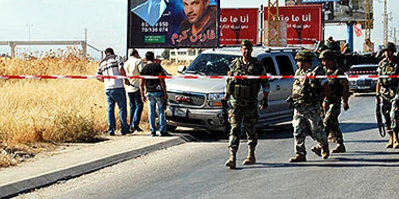 Suriye-Lübnan sınırında Hizbullah konvoyuna saldırı