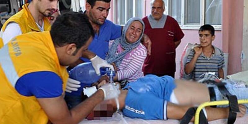 Suriye'den gelen mermi yine yaraladı