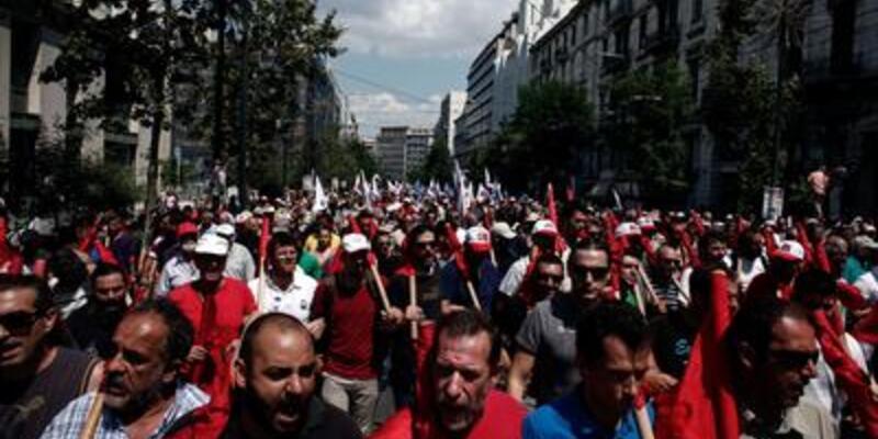 Yunanistan genel grevde